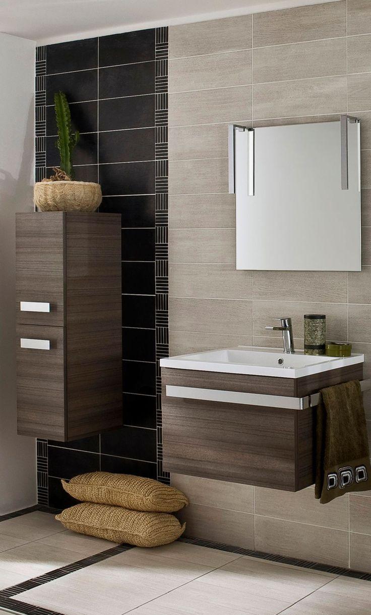les 25 meilleures idées de la catégorie salle de bain marron sur ... - Salle De Bain Chocolat Et Beige