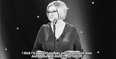 When she actually had a pretty legit response to her critics. | 23 Times Sarah Millican Proved She's The Funniest Woman In Britain