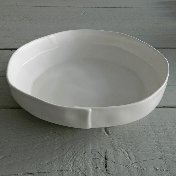 Large Organic Ceramic bowl at Future & Found