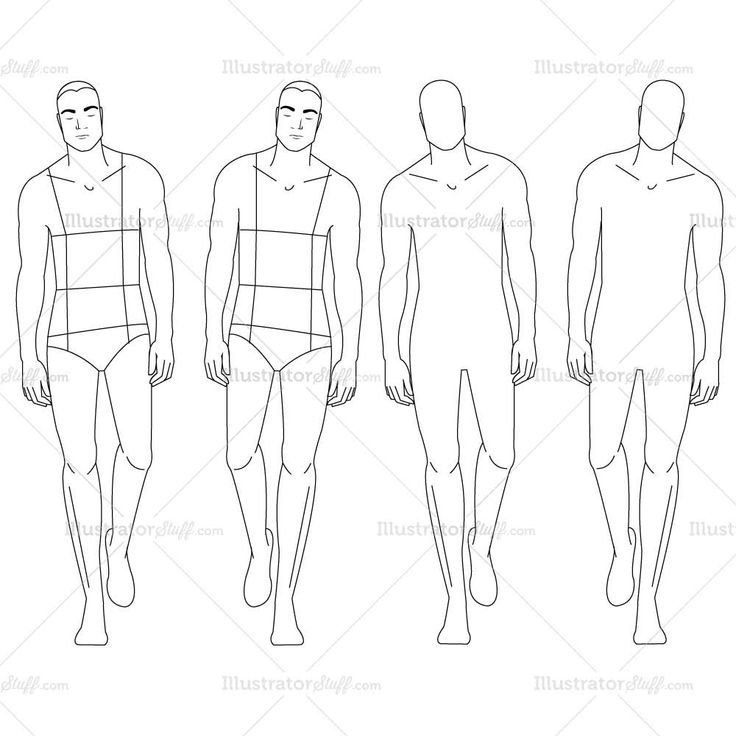 male body templates for designing clothes wwwimgkidcom