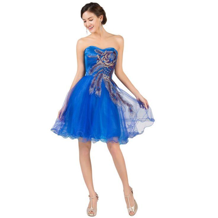 Tmavomodré spoločenské šaty CL007541