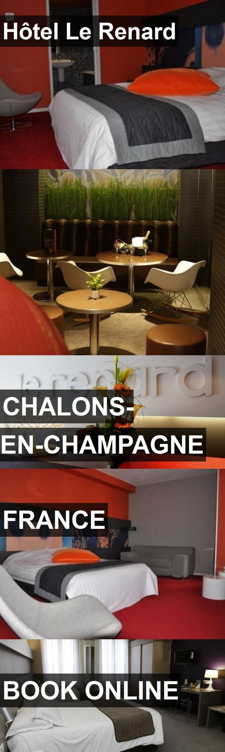 Hotel Hôtel Le Renard in Chalons-en-Champagne, France. For more information, photos, reviews and best prices please follow the link. #France #Chalons-en-Champagne #travel #vacation #hotel