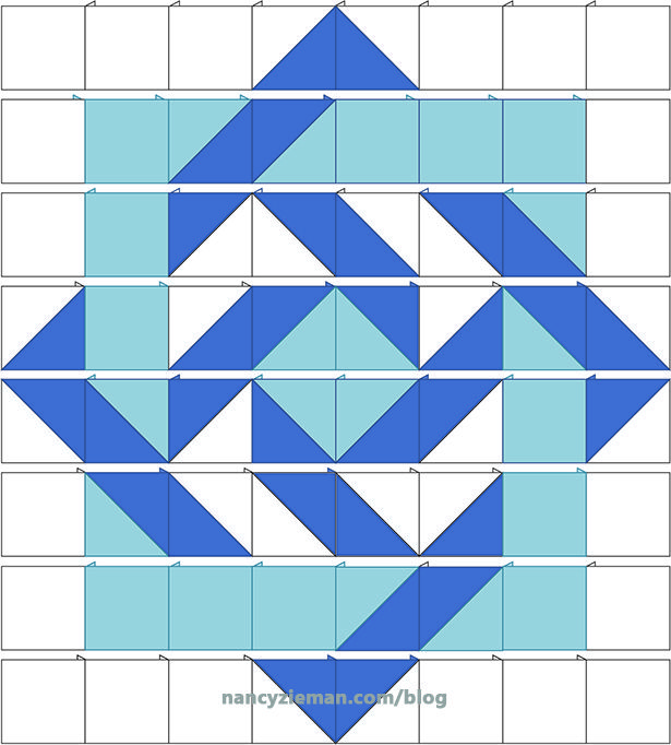 Illusion Quilts Made Easy with Half Square Triangles by Nancy Zieman | Sewing With Nancy