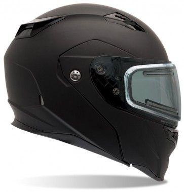 Bell Revolver Evo Matte Electric Mens Winter Sled Snowmobile Helmets