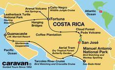 Caravan Costa Rica Tour