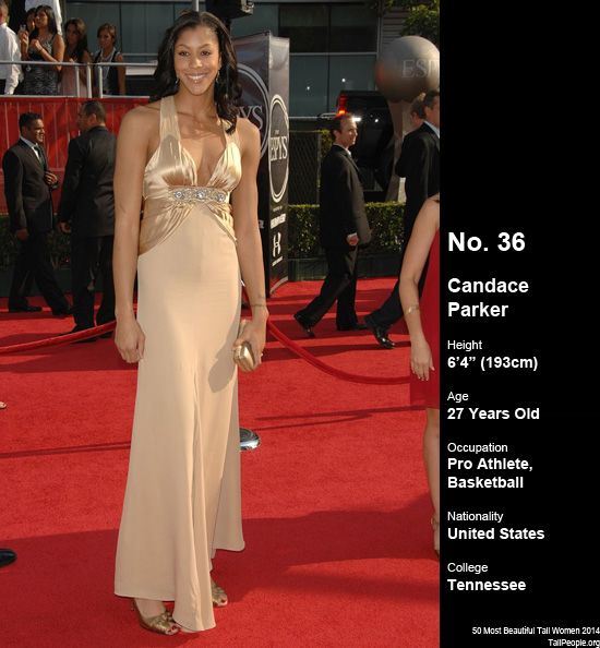 Candace parker my celebrity girlfriends pinterest for Model height