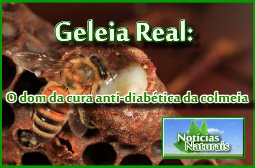 geleia real O dom da cura anti-diabética da colmeia NN