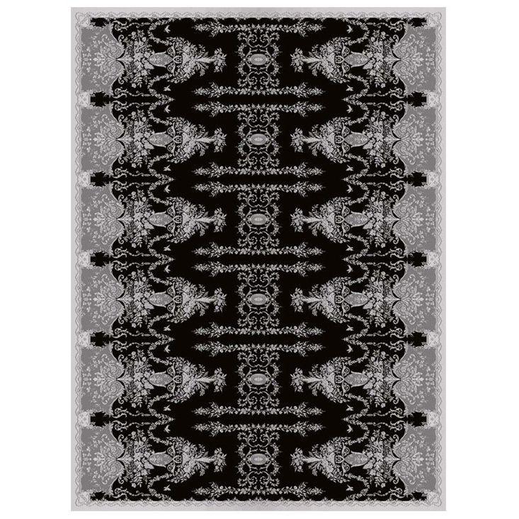 Ковер черных и фиолетовых оттенков 'Отражение Империи' Livadia #carpet #rug #interior #designer #ковер #дизайн