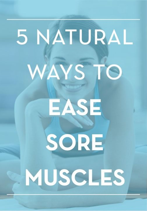 Follow these 5 great tips to help relieve post-workout soreness!