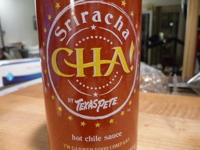 Texas Pete's new Sriracha sauce – CHA! - http://hotsaucedaily.com/texas-petes-new-sriracha-sauce-cha/