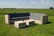 Kissensets Gartenbänke aus Gerüstholz - Wohnaccessoires - Produkte - Moebelhaus Hamburg für Landhausmöbel | Teakmöbel | Kolonialmöbel | Chinamöbel | Indische Möbel |Stühle | Tische und Sofa