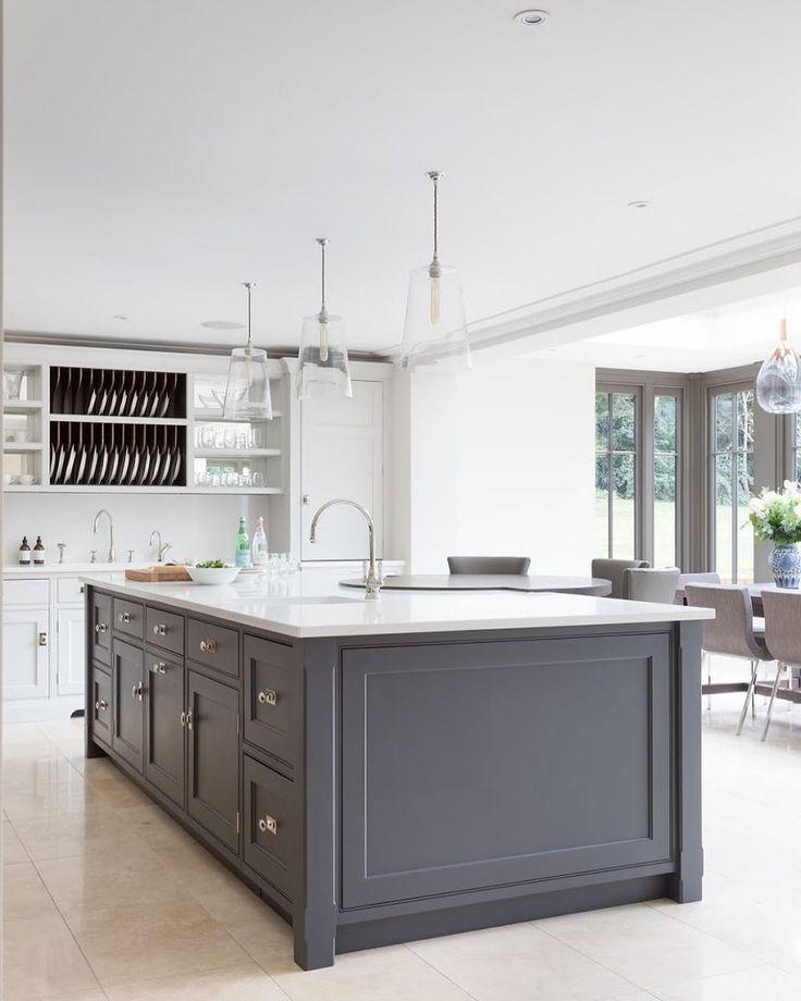 "Kitchen Design Tunbridge Wells: Humphrey Munson On Instagram: ""A Lovely Big Island For"