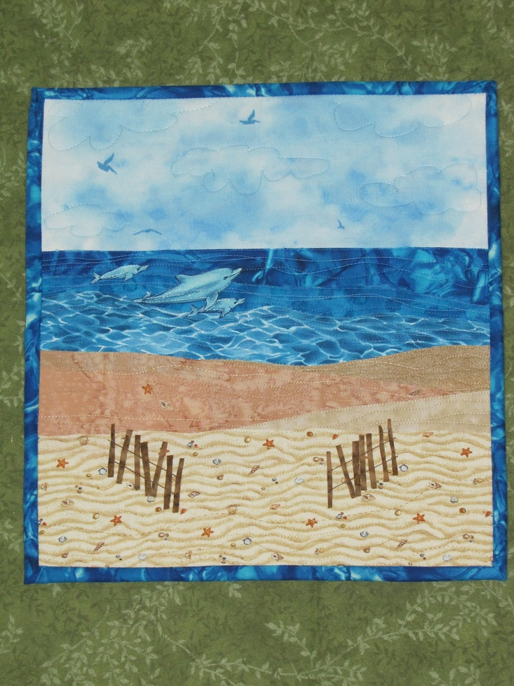 1000 Ideas About Beach Quilt On Pinterest Quilting