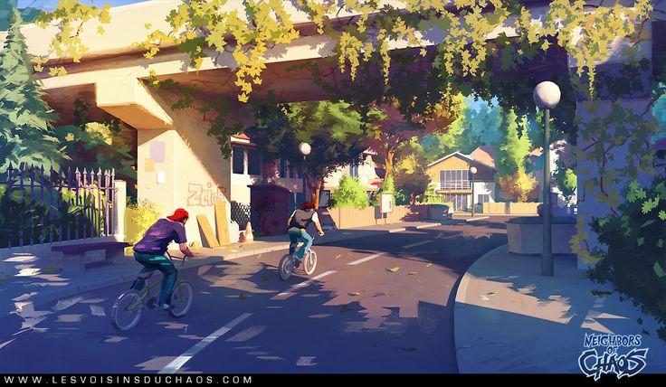 Under the bridge by *Tohad on deviantART