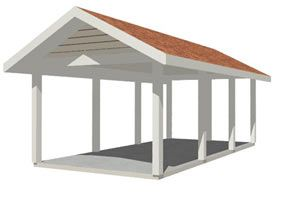 Best 25 2 car carport ideas on pinterest carport for Carport material list