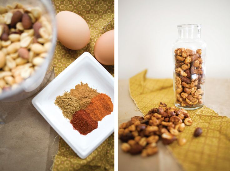 Pomelo: A Healthy Snack  3 c. unsalted mixed nuts 1/3 c. sugar 1 tsp. kosher salt 1 egg white 1/2 tsp. cumin 1/2 tsp. smoked paprika 1/2 tsp. cinnamon 1/2 cayenne pepper