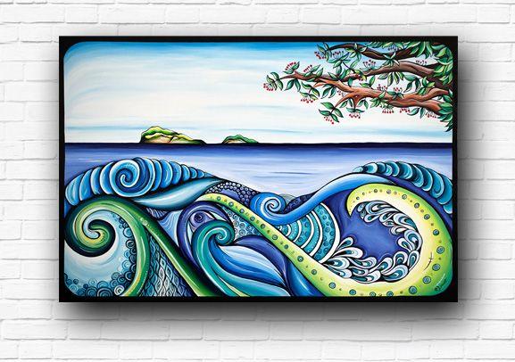 Tangaroa by New Zealand Artist Robyn Lamont