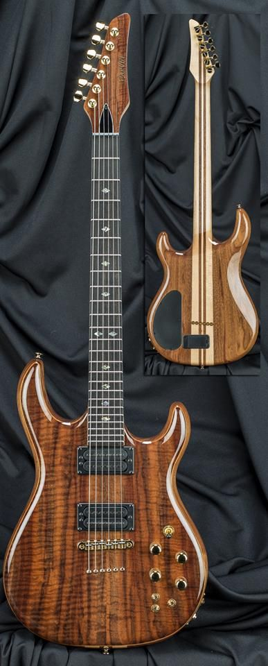 Kiesel Guitars Carvin Guitars 16 hrs · Check out this STUNNING DC400MW With a crazy Claro Walnut top!