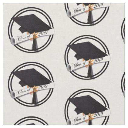 Class of 2019 Grad Cap and Diploma Fabric