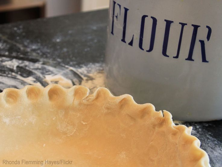 Lard is the secret ingredient in this perfectly flakey pie crust.