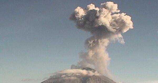 Mexique : nouvelle éruption du volcan Popocateptl