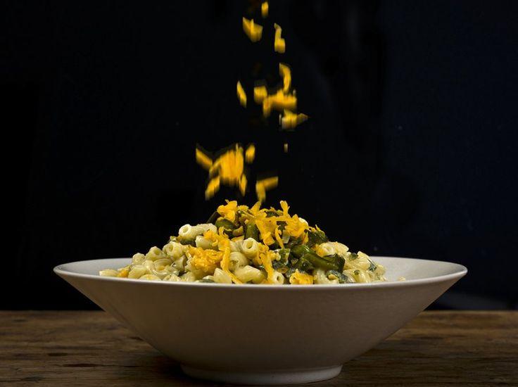 Green Chile-Cheddar Macaroni Salad | Soups and Salads | Pinterest