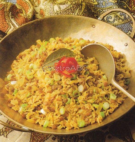 Fűszeres lencsés rizs   Receptek   gasztroABC