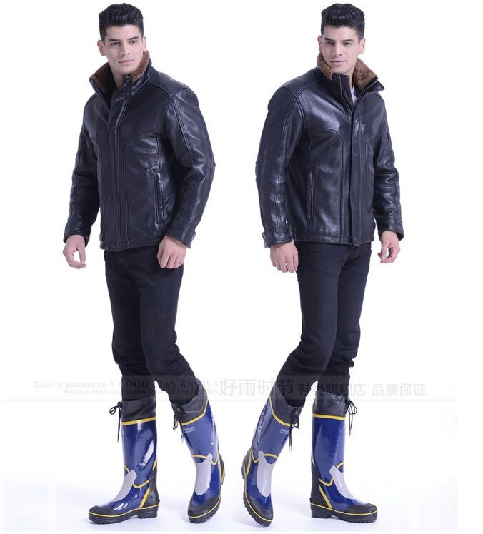 Men's Rain Boots Fashion