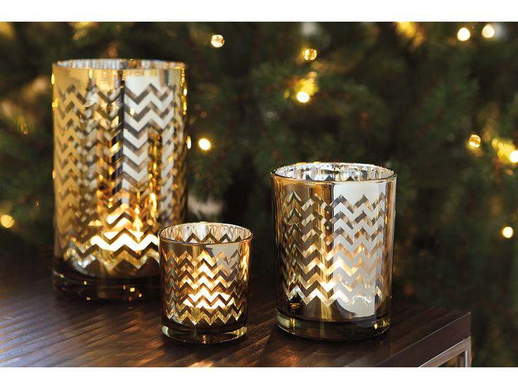 Fink Living Teelichthalter Ilumi gold-silber kaufen im borono Online Shop