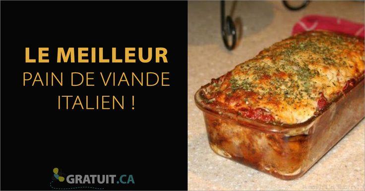 Le secret de ce pain de viande est le fromage et la combinaison d'épices qui ajoute un soupçon de piquant!