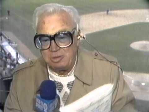 "Harry Caray ""Someday the Chicago Cubs are going to be in the World Series"" - YouTube"