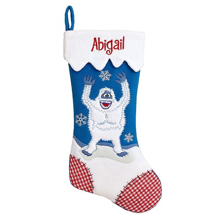 Rudolph Character Stocking - Abominable Snow Monster