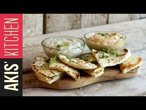 Greek Pita Bread | Akis Kitchen - YouTube