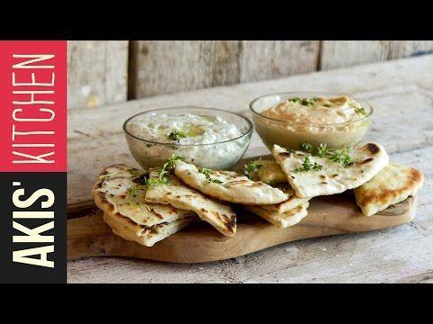 Greek Pita Bread | Akis Kitchen - YouTube