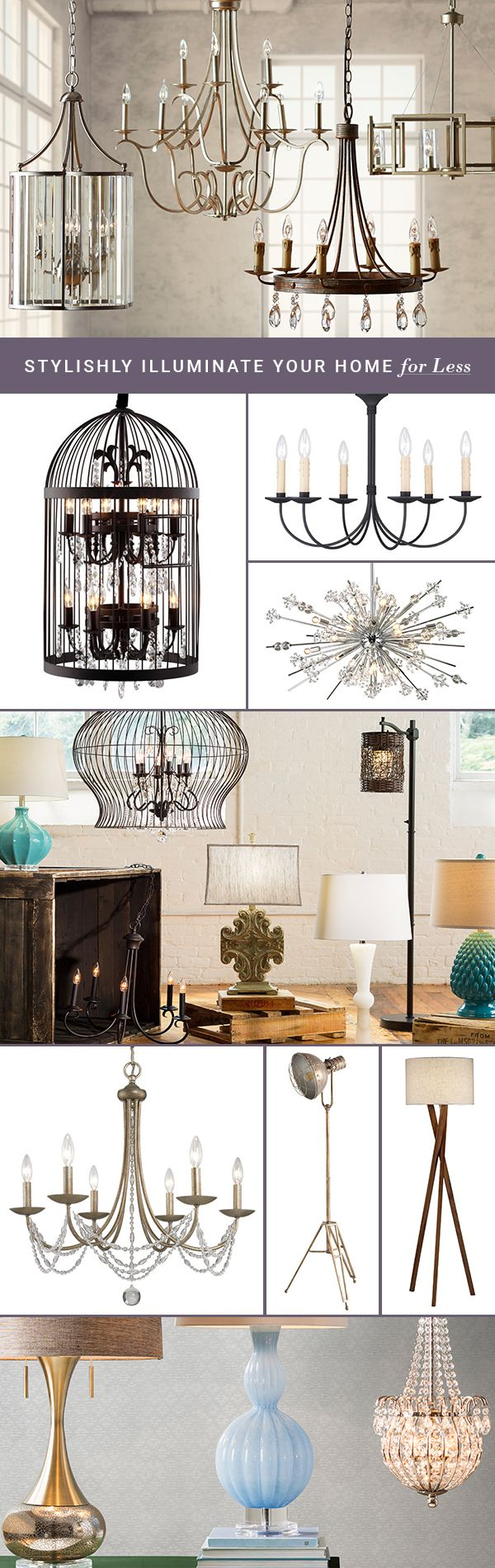 Looking for some bright decorating ideas? Whether it's a pendant, table lamp, or chandelier, lighting can have a major effect on the look and feel of your space. Check out Joss & Main's s selection for everything from statement pieces to the ideal reading lamp and get ready to see your home in a whole new light. Sign up at Joss & Main and get up to 70% off!