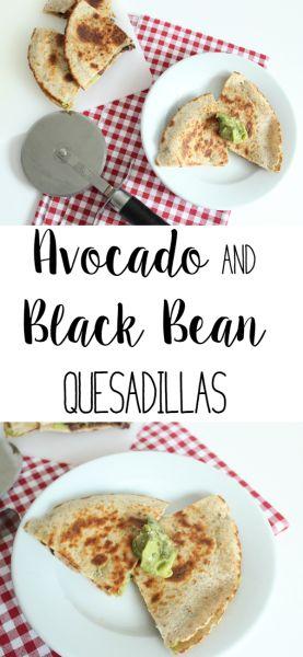 Avocado and Black Bean Quesadillas   Lean, Clean, & Brie