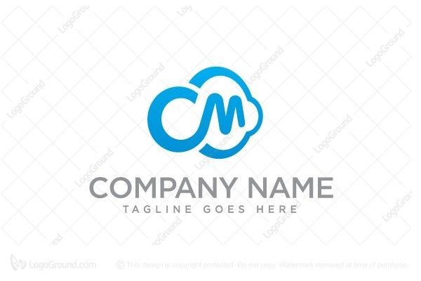 Logo for sale: C&M Cloud Logo, Software, Migration, Cloud, Tools, Systems, Computer, Cluster, Email, Data, Database, Program, Multimedia, Communications, Internet, Networking, Connect, Device, Global, Digital, Hardware, Designers Branding, Logo, Logos