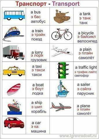 Английский транспорт