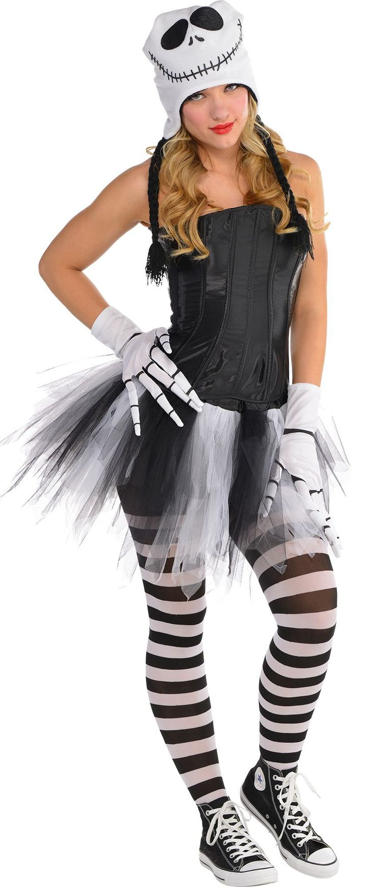 Make Your Costume Womens Sassy Jack Skellington Jack