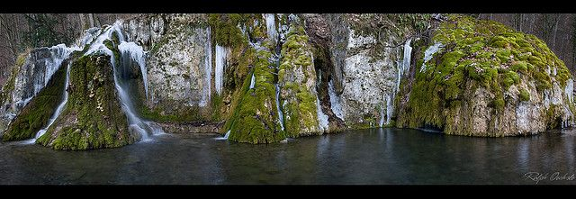 Gueterstein waterfalls - Bad Urach, Germany by Ralph Oechsle