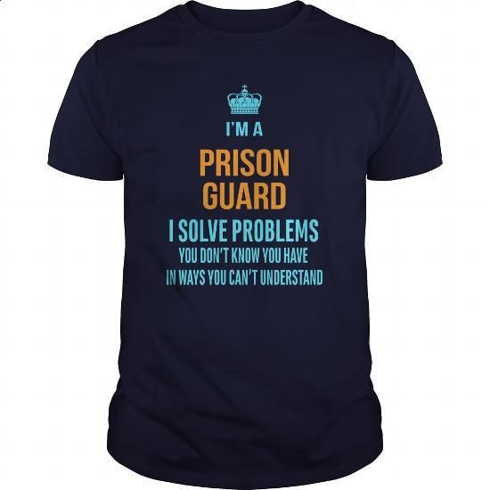 Prison Guard #Tshirt #T-Shirts. MORE INFO => https://www.sunfrog.com/LifeStyle/Prison-Guard-96614657-Navy-Blue-Guys.html?60505