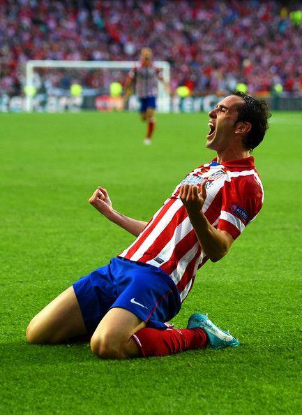 Diego Godin of Club Atletico de Madrid