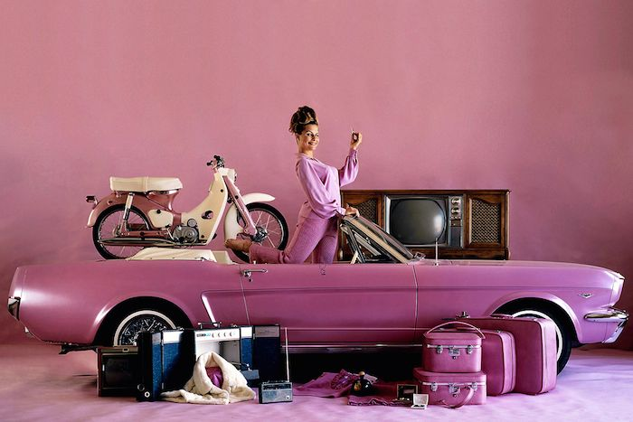 Playboy's Playmates of the Year & their Pink Prizes