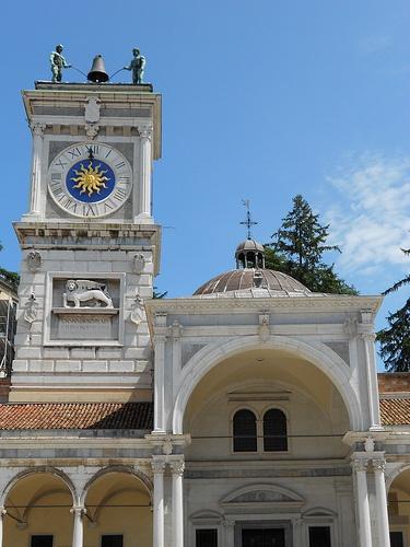 Torre dell'Orologio e cappella di San Giovanni Udine  #TuscanyAgriturismoGiratola
