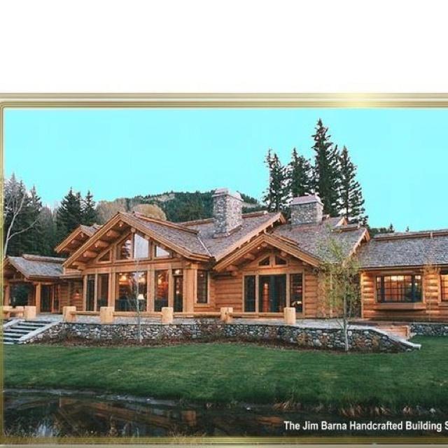 Log Cabin Designs Fryeburg Maine: 130 Best House Images On Pinterest
