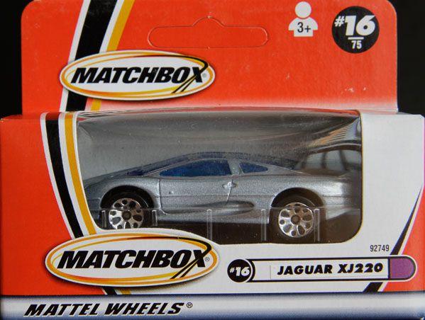 Model Matchbox Jaguar XJ220