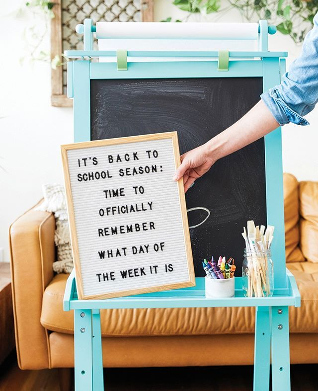 It S That Time Again Funny Back To School Letterboard By Grove