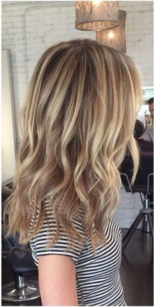 Ashy dirty blonde / light brown ombré