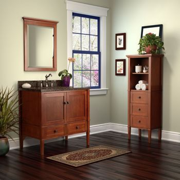 the monroe vanity this timeless mission style vanity will bring elegance to your bathroom - Costco Bathroom Vanities