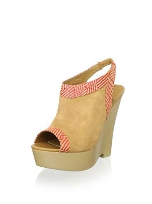 83% OFF Australia Luxe Collective Women's Destoto Wedges (Tan/Poppy)